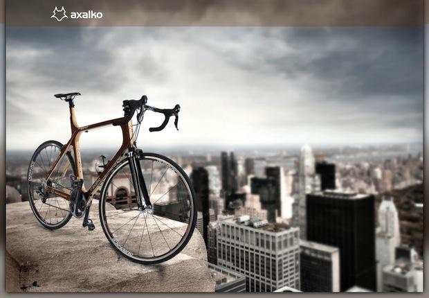"""Axalko, bicicletas de madera """"Made in Euskadi"""""""