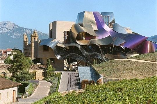 El hotel de la bodega de herederos de marqu s de riscal presentado como un ejemplo de turismo - Arquitecto bodegas marques de riscal ...