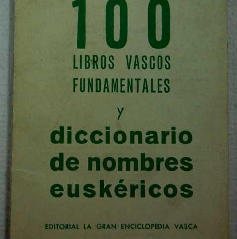 libro nombres vascos: