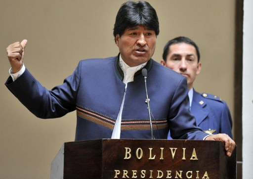 BOLIVIA-ECONIMY-MORALES-BONDS