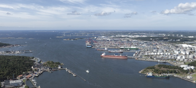 Port-of-Gothenburg