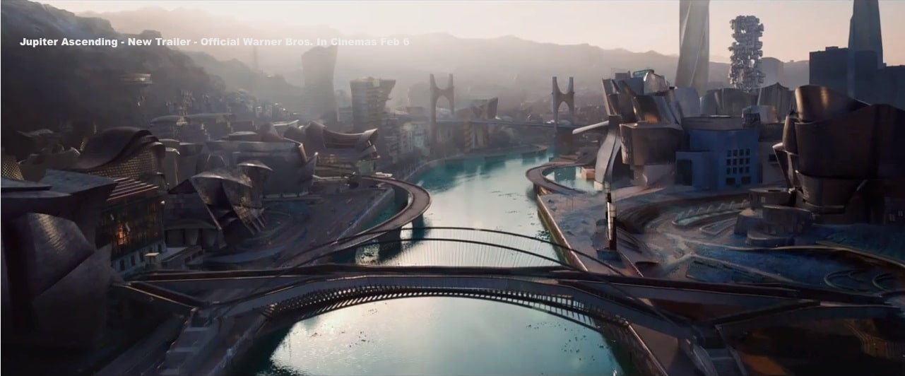 Bilbao en la película Jupiter Ascending de los hermanos Wachowski