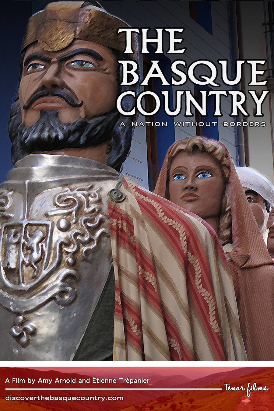 Carátula del documental THE BASQUE COUNTRY - A Nation Without Borders
