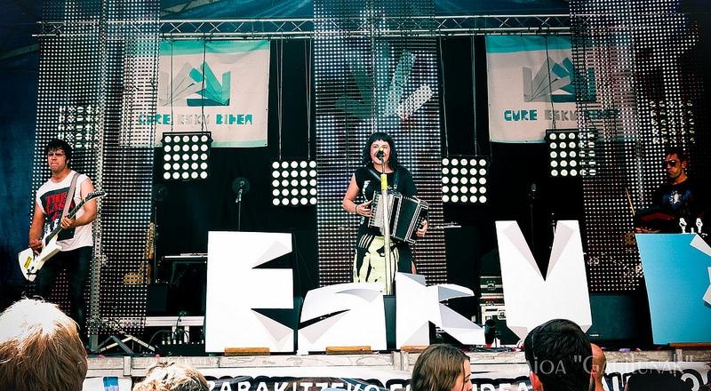 El grupo vasco de música electrónica GOSE en Bergara