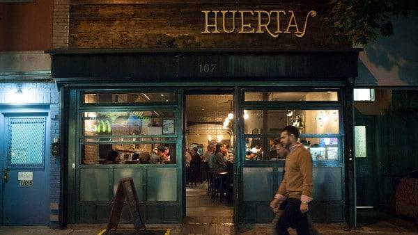 Huertas in New York's East Village