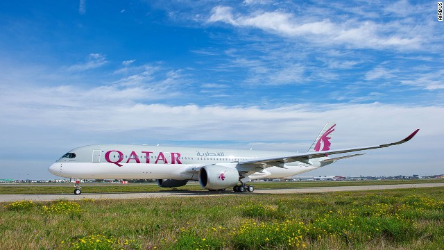 Qatar Airways is the global launch customer of the Airbus A350 XWB, accepting delivery of the next-generation aircraft in a ceremony on December 22. (CNN)