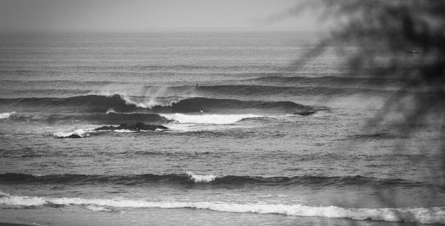 Sopelana é uma região abençoada por algumas ondas de qualidade. Foto: WSL/Poullenot