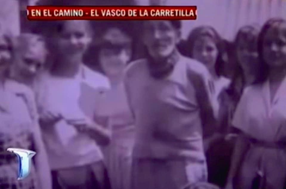 """Fotoghrama del documental """"en el Camino"""" de Mario Markic para la cadena de TV """"Todo Noticias"""""""