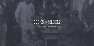 Portada de la web del Restaurante Cooks & soldiers