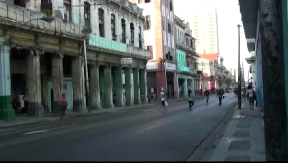 "Belascoain Street in Havana, from the documentary ""Belascoain,"" the first in a series called ""Seven Streets in Havana"" by Angel Gonzalez Katarain."
