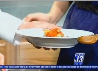 Camarones a la Vasca en Tucson News 13 (CBS)