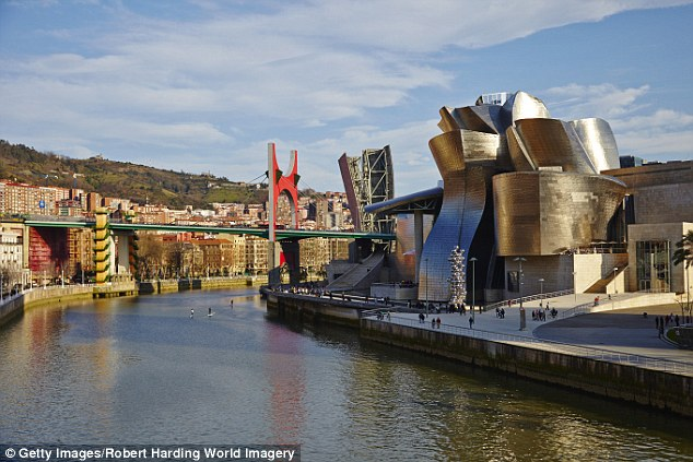 Art and soul: The magnificent Guggenheim gallery is Bilbao's most striking landmark