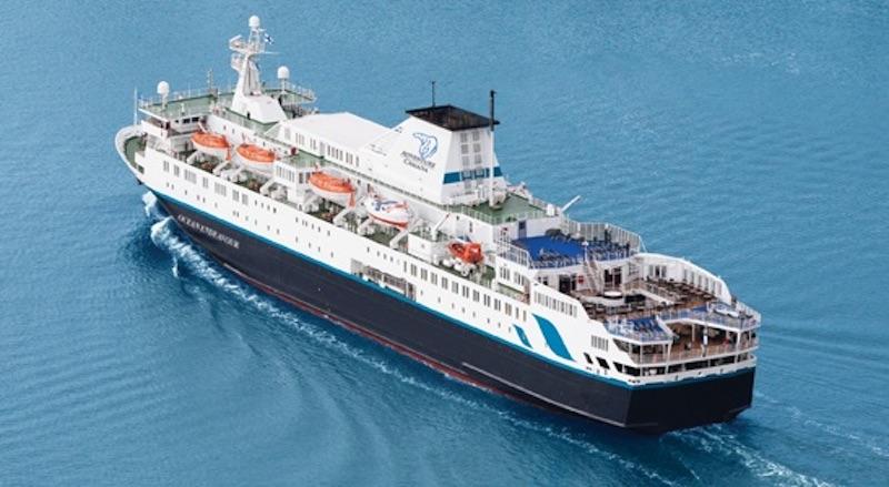 Ocean Endeavour, Adventure Canadá-k euskal baleazaleen espedizioan erabiliko duen ontzia