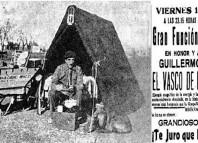 """Acto de homenaje y recaudación de fondos para el """"Vasco de la Carretilla"""". Estraordinario el titulo d ela obra que se representaba"""