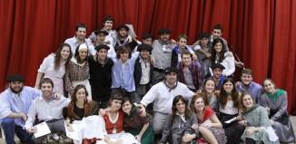 Participantes vascos, de Euskadi y Argentina, en el encuentro Hator Hona 2014