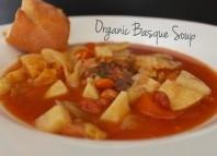Sopa vasca (orgánica) desde Calfornia