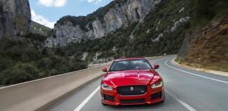 Prueba del jaguar XE por carreteras vascas