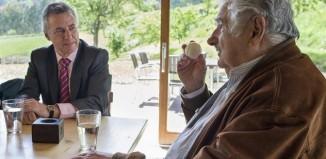 El ex-presidente de Uruguay, Mujica, con el Lehendakari (foto EFE)