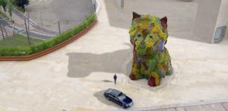 Exposicion de Jeff Koons en el Museo Guggenheim Bilbao