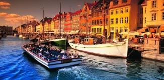 Una vista de Copenhaguen