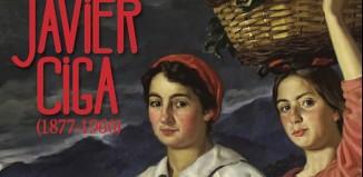 Exposicion del pintor navarro Javier Ciga en el Museo Vasco de Baiona