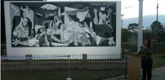 Inauguración del Guernica en Florida/ Foto: Ministerio de Turismo