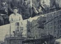 Coquetdale uno de los buques de Newcastle que participaron en la ruptura dle bloqueo franquista a Bilbao y en la evacuación de refugiados