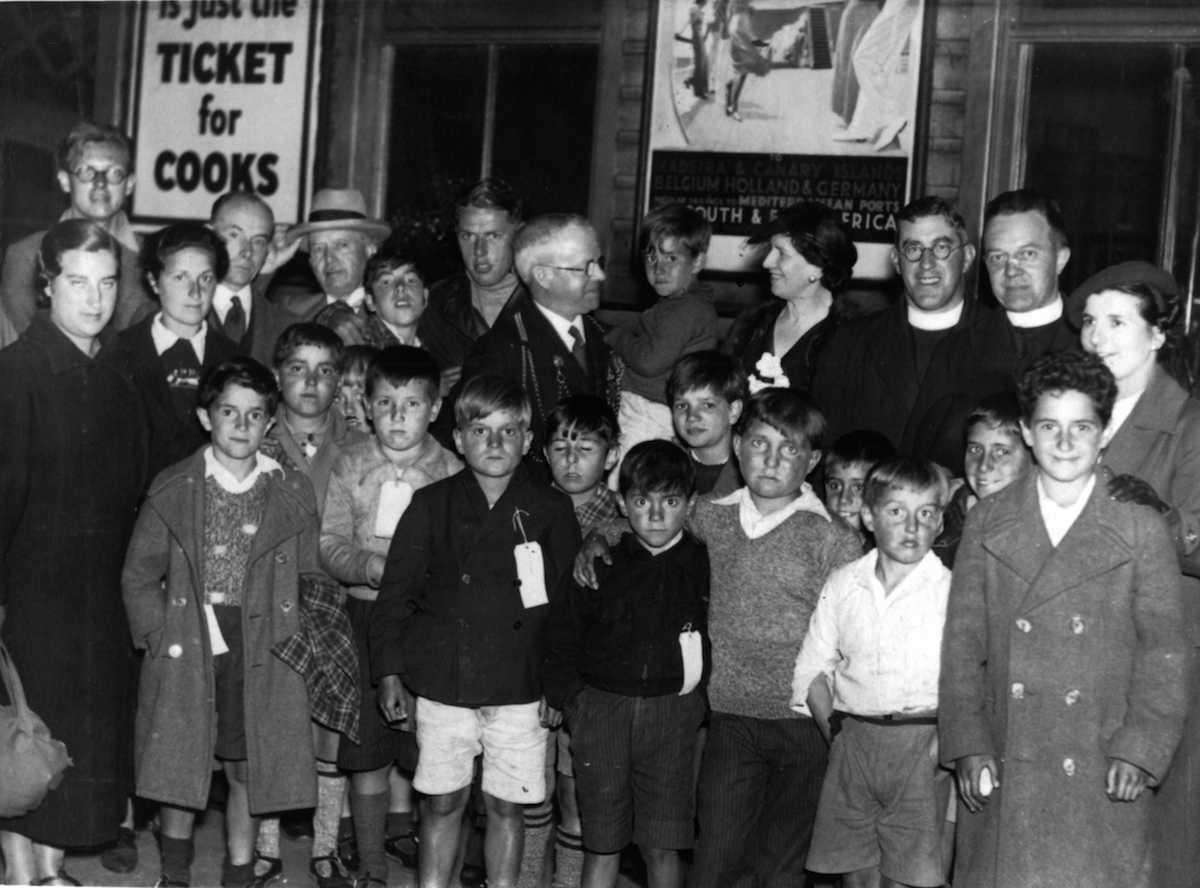 Basque War Children taken in at Newcastle