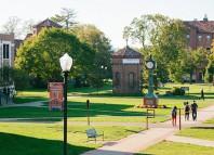 Campus de St. Bonaventure University. Única y orgullosa como los vascos