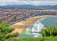 Vista de Donostia desde el Monte Ulia
