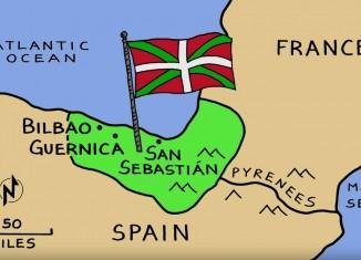 "Vídeo de Rick Steves sobre ""the land of the basques"""
