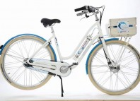 Bicicleta con pila de combustible de hidrógeno de la empresa vasca Pragma Industrie