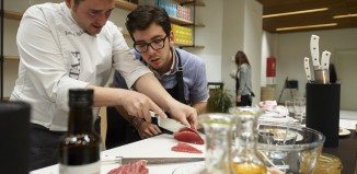 Gastronomia vasca en Donostia por el New York Post FOR TRAVEL - Spain Cooking Schools -- Hotel Maria Cristina Cooking School CREDIT: Jose Manuel Bielsa
