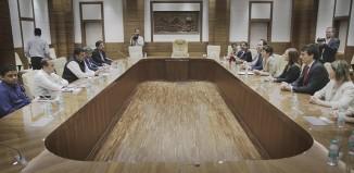 Reunion del Gobierno vasco y el Gobierno de Maharastra