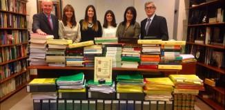 Equipo y documentacion del libro sobre le Concierto de Pedro Luis Uriarte