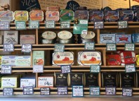 Tinned seafood display at Zingerman's Deli in Ann Arbor, Mich. PHOTO: WILLIAM MARSHALL