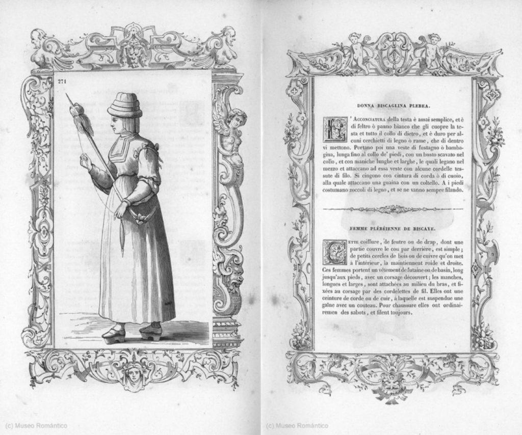 mujer plebleya de Bizkaia
