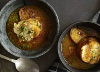 FIN COOKING | The monkfish in this hearty soup is brined, poached and sliced into tender scallops. PENNY DE LOS SANTOS