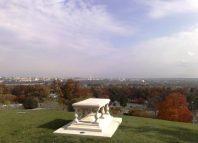 Tumba de Pierre L'Enfant en el cementerio de Arlington