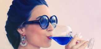 Gïk el vino azul hecho desde el Pais Vasco