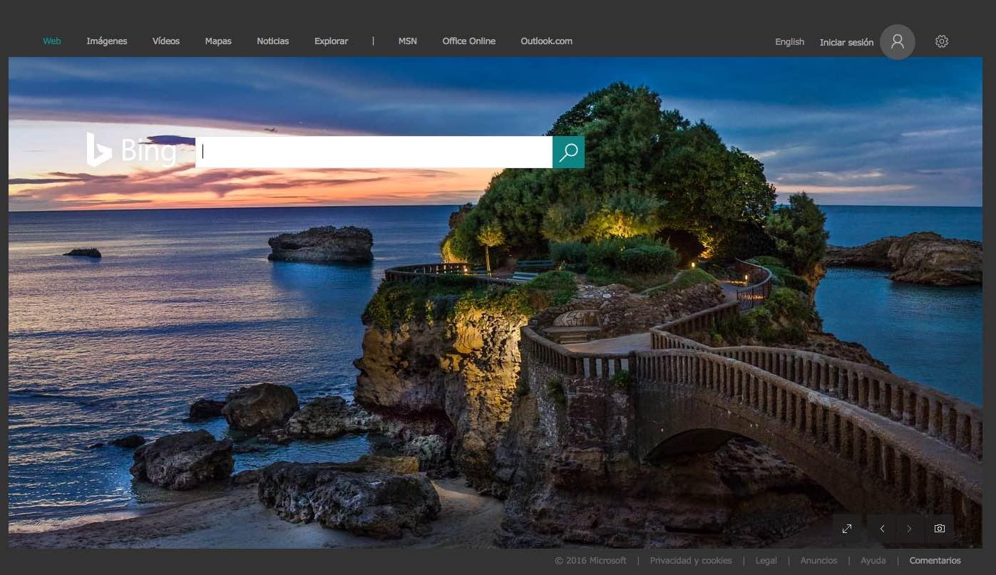 Biarritz en Bing Argentina