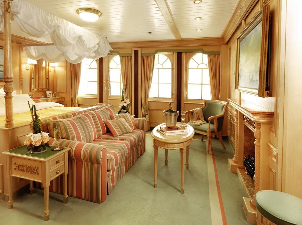 Crucero Sea Cloud II - cabina tipo A
