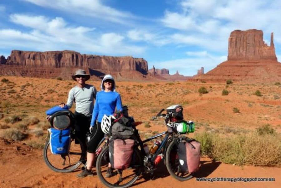 Cyclotherapy- a su paso por Monument Valley - USA