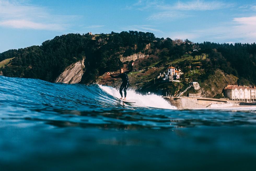 Dos surfers alemanes aconsejar disfrutar del País vasco ©DanPetermann