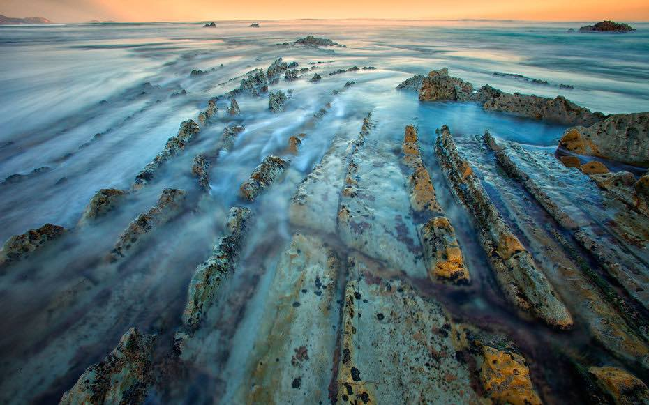 Image of the beach at Barrika - Getty Images