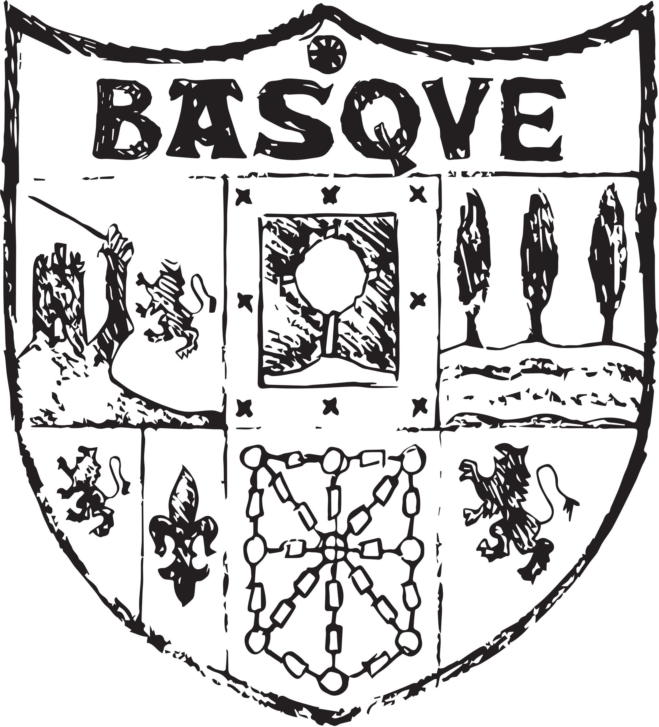 escudo basque negro