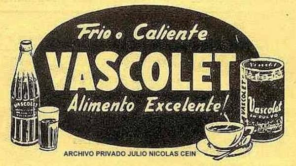 Un anuncio de Vascolet