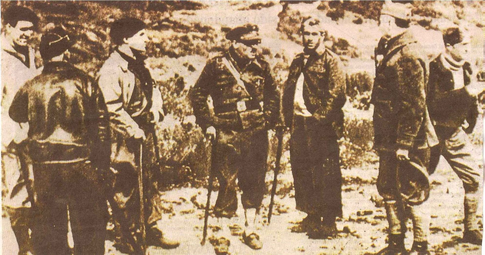 José Antonio Aguirre on the front during the Spanish Civil War
