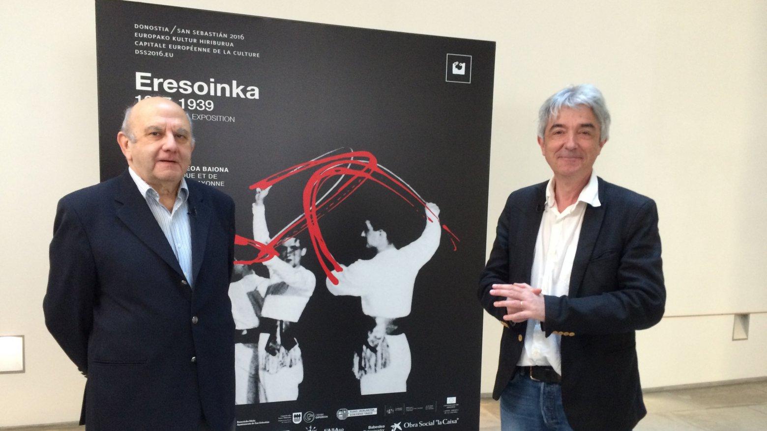 Homage to the Eresoinka group on France 3 TV