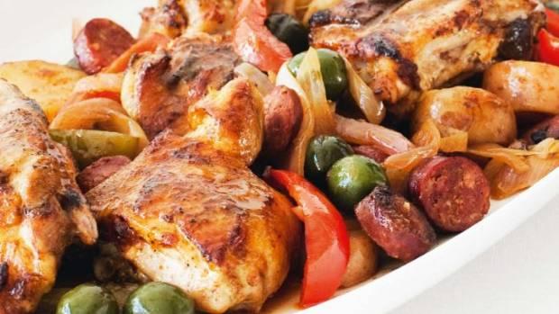 Basque chicken. Nueva Zzelanda